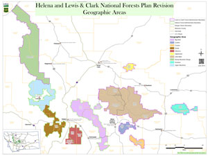 Helena forest planning