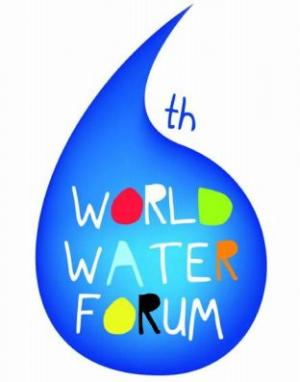 water drop graphic the world water forum