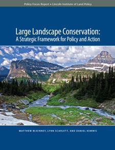Cover of Large Landscape Conservation, A Strategic Framework for Policy and Action