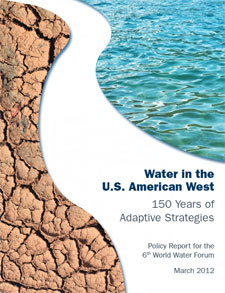 Report cover for Water in the US American West, 150 Years of Adaptive Strategies